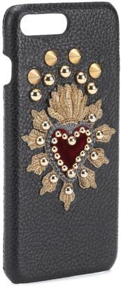 Dolce & Gabbana Leather iPhone 7 Plus case