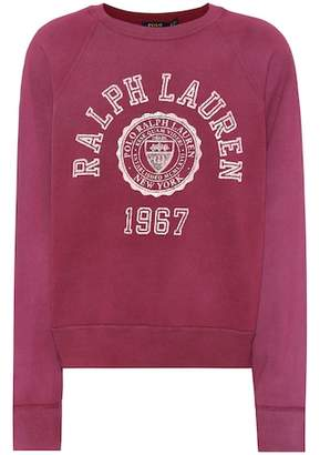 Polo Ralph Lauren Printed cotton-blend sweatshirt