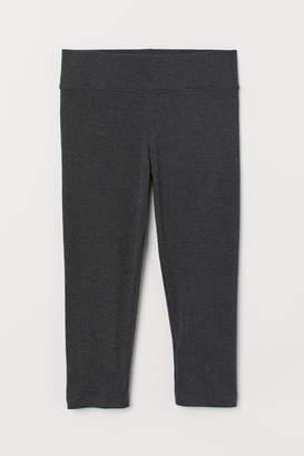 146ef57900bcc H&M 3/4-length Leggings - Gray