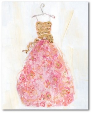"Courtside Market Ball Gown Ii 20"" x 24"" Gallery-Wrapped Canvas Wall Art"