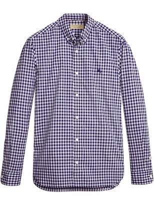 Burberry gingham shirt
