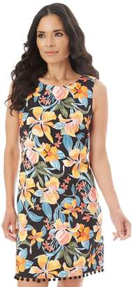Apt. 9 Women's Printed Pom Dress