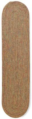 L.L. Bean L.L.Bean All-Weather Braided Oval Runner, Concentric Pattern
