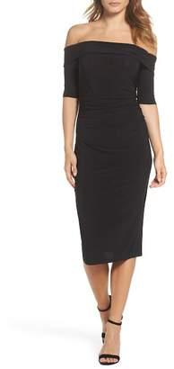Trina Turk trina Jacey Off-the-Shoulder Sheath Dress