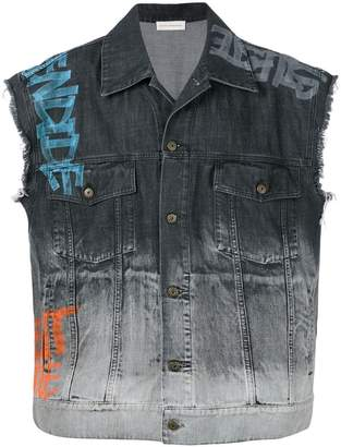 Faith Connexion sleeveless denim jacket