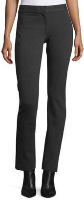 Derek Lam Mid-Rise Jersey Leggings, Charcoal