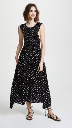 Free People Polka Dot Midi Dress