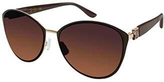 Jessica Simpson Women's J5329 Gldbr Cateye Sunglasses