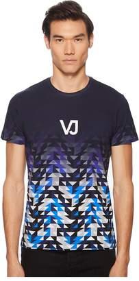 Versace Logo Ombre Tee Shirt