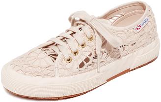 Superga 2750 Macrame Cotu Sneakers $99 thestylecure.com