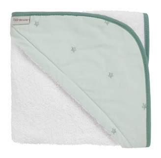 Lullaby Stars Cotton Hooded Baby Towel