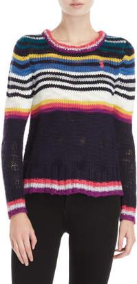 U.S. Polo Assn. Thin Stripe Knit Sweater