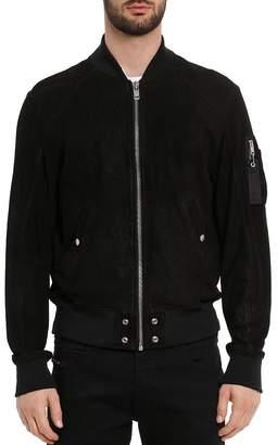 Diesel Nikolai Nubuck Leather Jacket