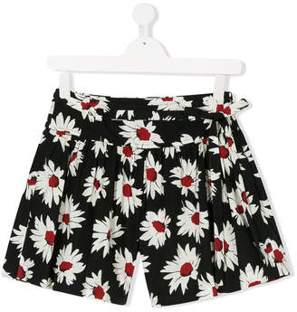 MonnaLisa Jakioo TEEN floral print flared shorts