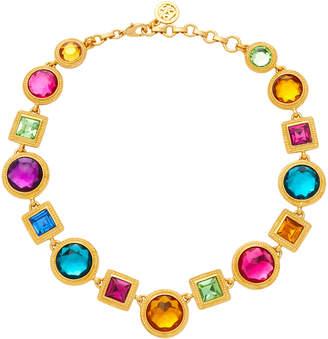 Ben-Amun Ben Amun Gold-Plated Crystal Necklace