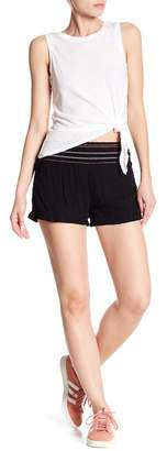 Planet Gold Darla's Embroidered Waist Shorts
