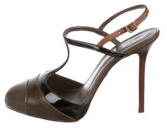 Tory Burch Leather T-Strap Pumps