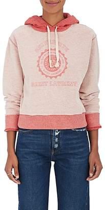 """Saint Laurent Women's """"Universite"""" Cotton Terry Sweatshirt"""