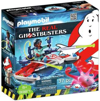 Playmobil 9387 Ghostbusters Zeddemore with Aqua Scooter