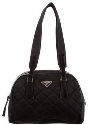 Prada Tessuto Quilted Bag Black Tessuto Quilted Bag