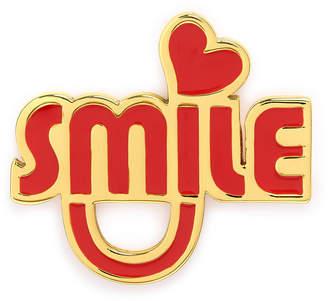 Henri Bendel Smile Pin