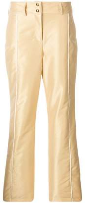 Fendi front buttoned trousers