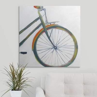 Wayfair 'Bicycle Diptych II' Hyden Painting Print