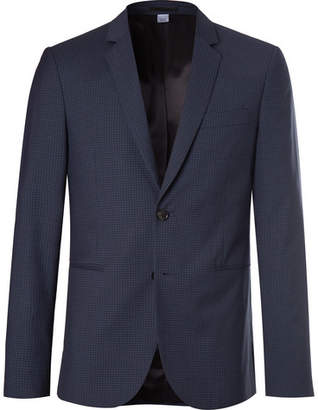 Paul Smith Slim-Fit Checked Wool-Blend Suit Jacket