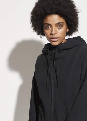Sherpa Hooded Zip-Up