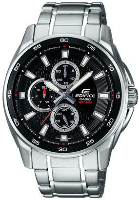 Casio Men's Edifice EF334D-1AV Stainless-Steel Quartz Watch