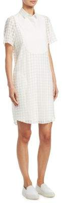 Akris Punto Lace Dot Shift Dress