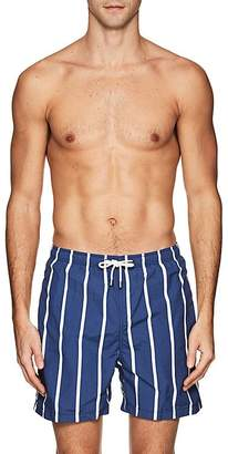 Solid & Striped Men's The Classic Striped Cotton-Blend Swim Trunks