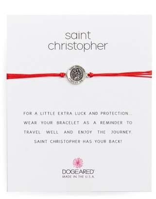 Dogeared Saint Christopher Pull Bracelet