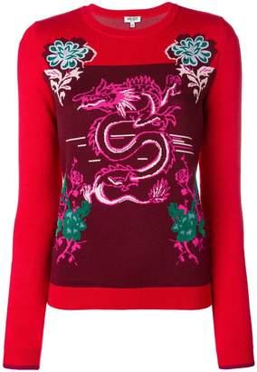 Kenzo Dragon knit jumper