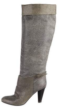 Mayle Leather Knee-High Boots