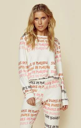 All Things Fabulous COZY JUMPER - SKETCHY LA