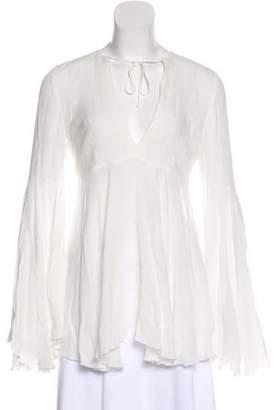 Giamba Bell Sleeve Blouse