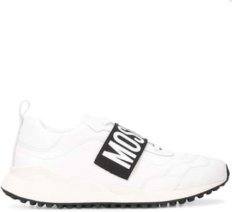 Moschino logo strap sneakers