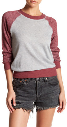 PLANET GOLD French Terry Sweatshirt $14.97 thestylecure.com
