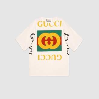 Gucci (グッチ) - GUCCI ロゴ オーバーサイズ Tシャツ