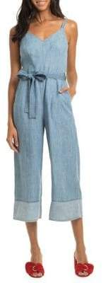 Trina Turk Modern Miami Chambray Cloud Jumpsuit