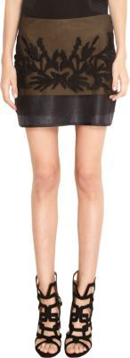 Maiyet Embroidered Mini Skirt