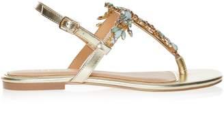 248ca74e9354 Next Lipsy Jewel Flat Sandals - 39 (UK 6)