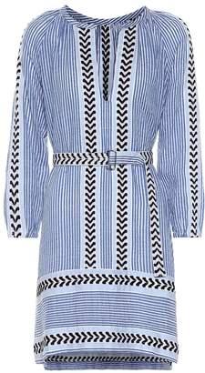 Lemlem Kesiti striped cotton-blend dress