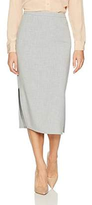 Ellen Tracy Women's Pencil Skirt with Side Slits