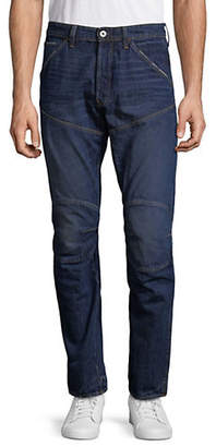 G Star Tapered Distressed Denim Jeans