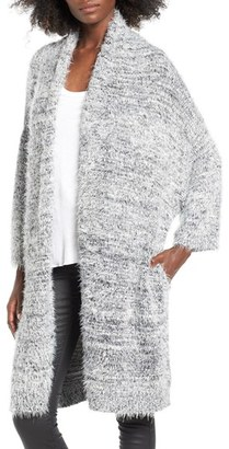 Women's Leith Fluffy Oversize Cardigan $99 thestylecure.com