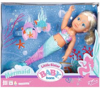 Baby Born Girls BABY born Little Sister Mermaid