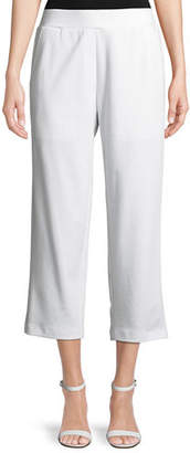 Eileen Fisher Cropped Ponte Trousers, Petite