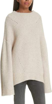 Nili Lotan Ronnie Wool Blend Sweater